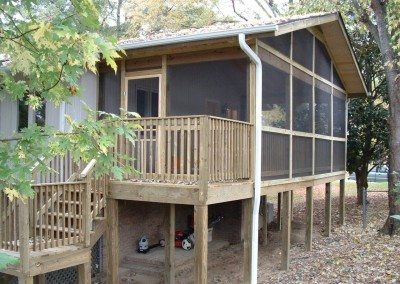 Deck and Sunroom Addition