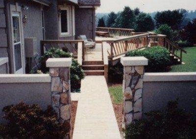 Porch Walkway