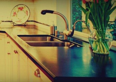 Contemporary, simple kitchen renovation