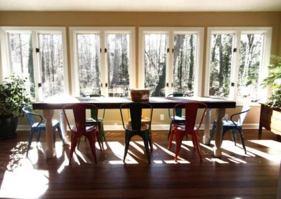 Kitchen Sunroom Addition in Whole Home Remodel