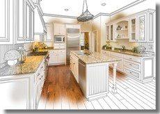 conceptual kitchen remodel
